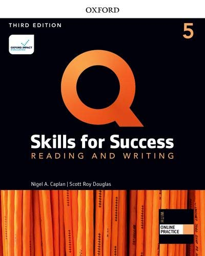 Q: Skills for Success, Reading/Writing 5 (3rd edition)